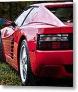 The Ferrari 512 Metal Print