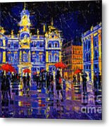The Festival Of Lights In Lyon France Metal Print