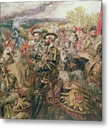 The Field Of The Cloth Of Gold, 1520 Metal Print