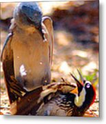 The Fight Metal Print