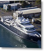 The Fincantieri Metal Print by Felix Bahamonde