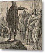 The First Barbarian King Of Italy Metal Print