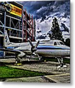The First Plane Metal Print