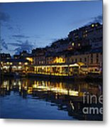 The Fish Market Metal Print
