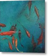 the Fish of Cabo Metal Print