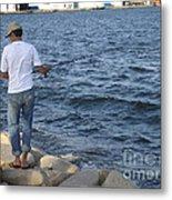 Tunisian Fisherman 3 Metal Print
