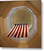 The Flag - Maryland State House Metal Print