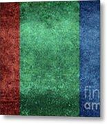 The Flag Of The Planet Mars Metal Print