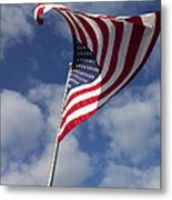The Flag Was Still There Metal Print