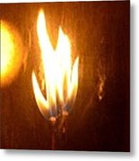 The Flame Metal Print