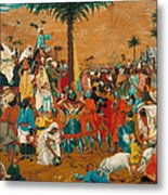 The Flight Out Of Egypt Metal Print
