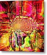 The Flow Of Gentleness And Compassion Metal Print
