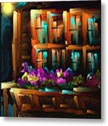 The Flower Box - Scratch Art Series - #31 Metal Print