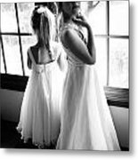 The Flower Girls Metal Print