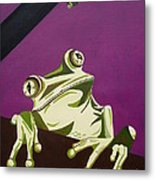 The Fly Catcher Metal Print