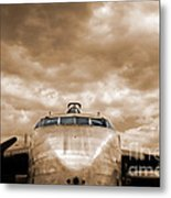 The Flying Boxcar  Metal Print