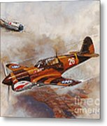 The Flying Tigers Metal Print