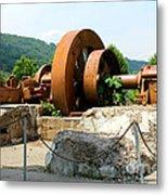 The Flywheel Metal Print