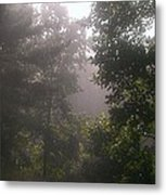 The Fog Rolls In Metal Print