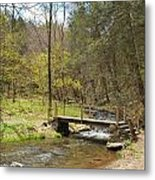 The Foot Bridge Metal Print