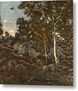 The Forest Of Fontainebleau Metal Print