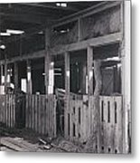 The Forgotten Barn Metal Print