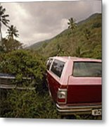 The Forsaken Cars Metal Print