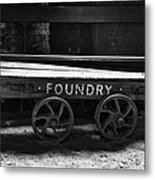 The Foundry Truck Metal Print