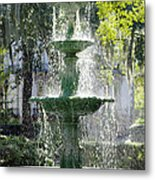 The Fountain Metal Print