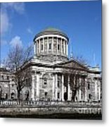 The Four Courts North Quays Dublin Metal Print