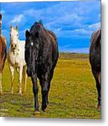 The Four Musketeers Metal Print