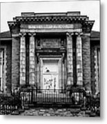 The Free Library Of Philadelphia - Manayunk Branch Metal Print