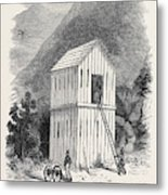The French Block House Prison Metal Print