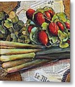 The French Cook Metal Print