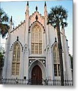 Charleston French Huguenot Church Metal Print