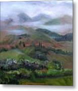 The French Pyrenees Metal Print