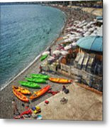 The French Riviera Metal Print