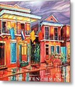 The Frenchmen Hotel New Orleans Metal Print