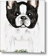 The Frenchton Metal Print by Maria Urso