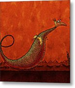 The Friendly Dragon Metal Print by Gianfranco Weiss