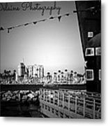 The Front Of The Large Ship Metal Print
