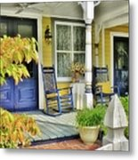 The Front Porch 2 Metal Print