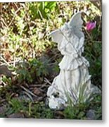 The Garden Angel Metal Print