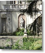 The Garden At The Pope's Private Residence Metal Print
