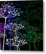The Garden Of Your Mind Rainbow 1 Metal Print
