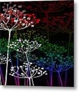 The Garden Of Your Mind Rainbow 3 Metal Print