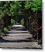 The Garden Pathway 2 Metal Print