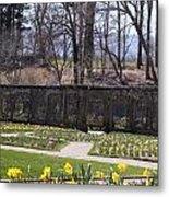 The Gardens At Biltmore Estate II Metal Print