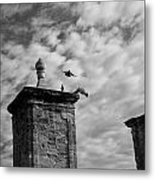 The Gate At Castillo Metal Print