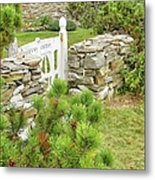 The Gate By The Sea Metal Print